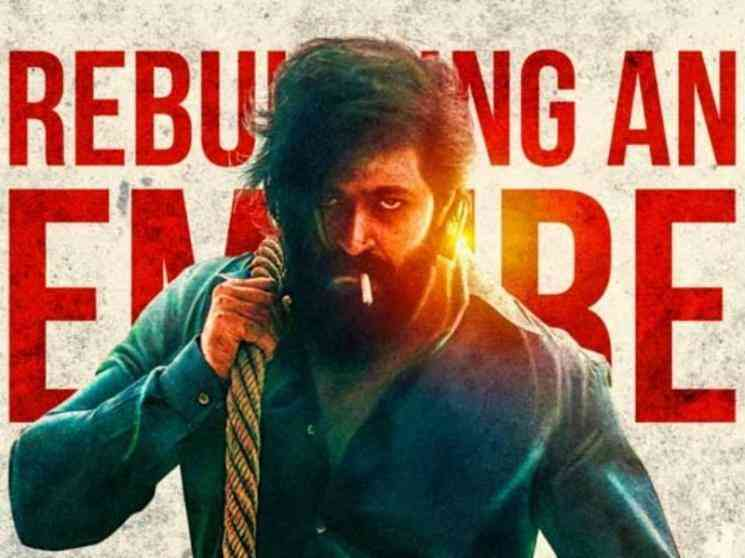 KGF: Chapter 2 climax - producer shares new shooting spot picture | Yash | Sanjay Dutt