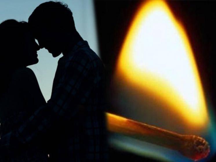 4 வருட காதல்.. திருமணத்துக்கு மறுத்த காதலன்.. தர்ணா போராட்டத்தில் ஈடுபட்ட இளம் பெண் தீக்குளிக்க முயன்றதால் பரபரப்பு!