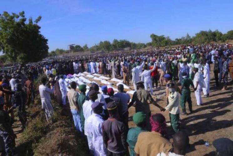 உணவு கேட்க வந்தவனால் கொடூரம்.. விவசாயிகள் 110 பேர் கழுத்தை அறுத்து படுகொலை!