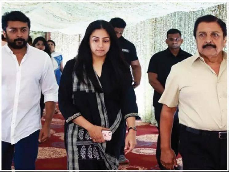 """சூர்யா, ஜோதிகா, சிவக்குமார் மீது காவல் ஆணையர் அலுவலகத்தில் புகார்! """"சூர்யாவுக்கு எதிராக நடவடிக்கை வேண்டாம்"""" - ஓய்வு பெற்ற நீதிபதிகள் கூட்டாககடிதம்"""