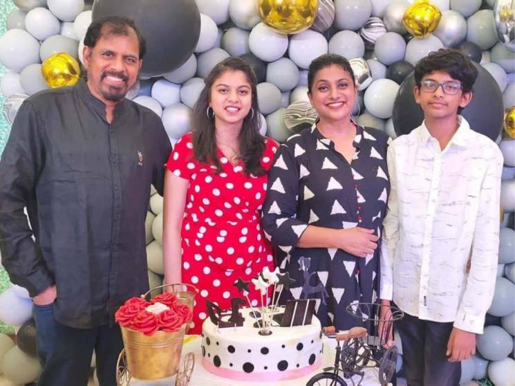 Actress Roja's daughter birthday celebrations - pictures go viral among fans
