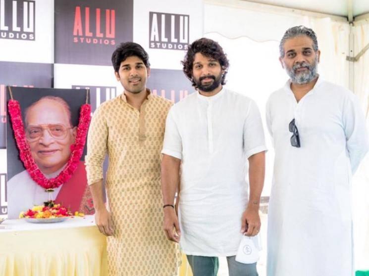 Allu Arjun inaugurates Allu Studios on grandfather Allu Ramalingaiah's 99th birth anniversary
