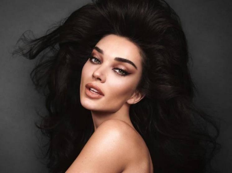 Amy Jackson spices up the lockdown with her topless photoshoot - pic goes viral!