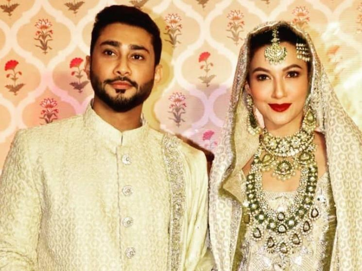 Bigg Boss 7 winner Gauahar Khan-actor Zaid Darbar's Nikah ceremony - fairytale wedding pics!