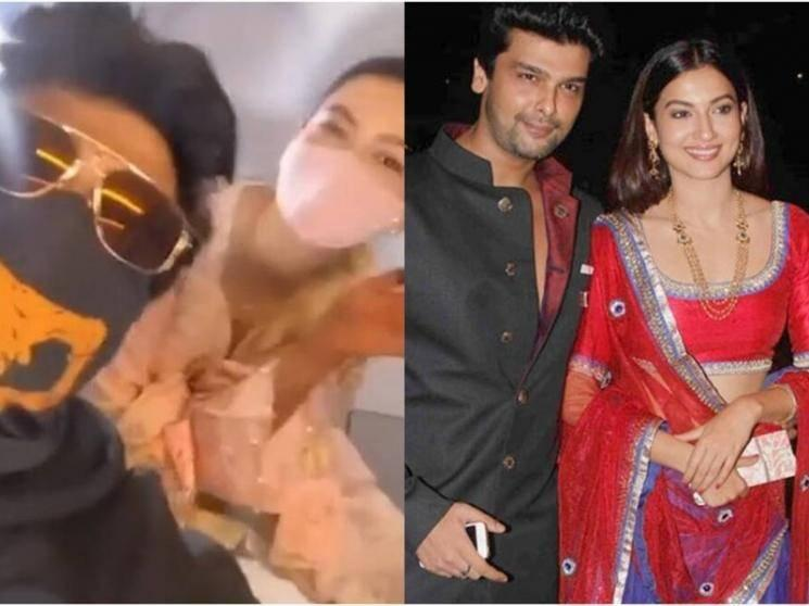 Bigg Boss actress Gauahar Khan runs into ex-boyfriend Kushal Tandon - VIRAL VIDEO!