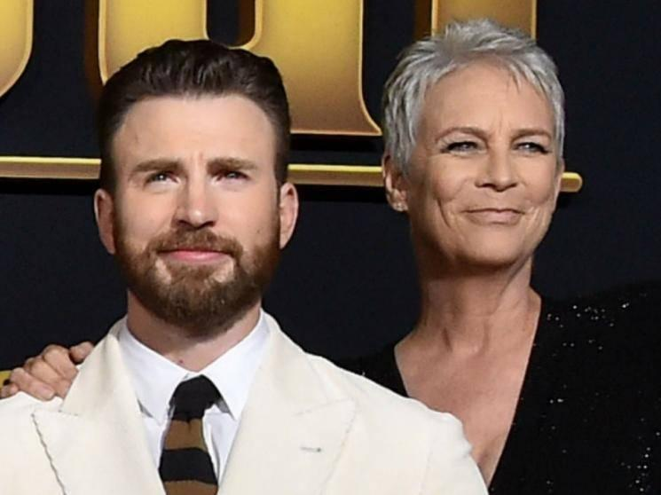Chris Evans' Knives Out co star Jamie Lee Curtis thinks Avengers star's leaked nude pic was planned
