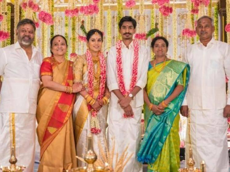 Director P. Vasu's daughter Abhirami gets married - Top personalities grace the happy occasion!