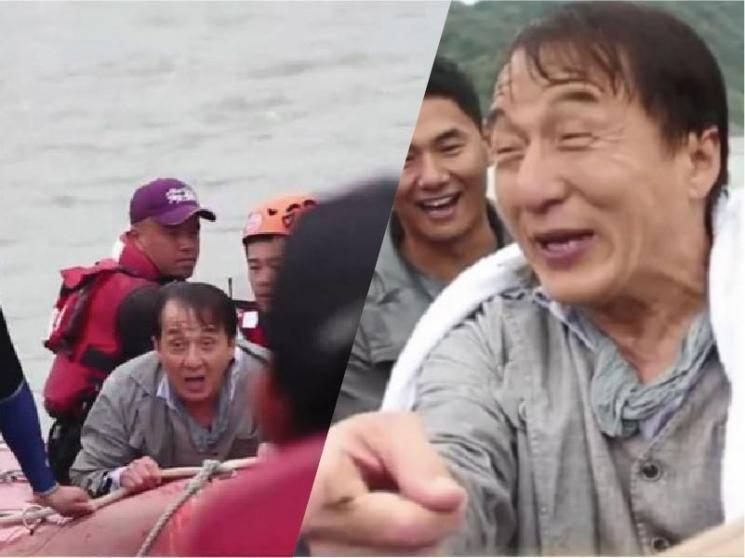 Jackie Chan nearly drowns during shooting for action movie Vanguard - VIRAL VIDEO!