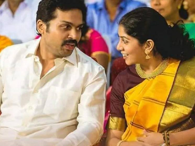 Actor Karthi and his wife Ranjani blessed with their second child - a boy baby!