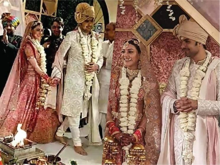 Kajal Aggarwal and Gautam Kitchlus fairytale wedding - pictures take the internet by storm!