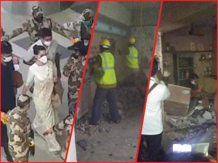 Kangana Ranaut brands Mumbai as Pakistan after demolition of her office