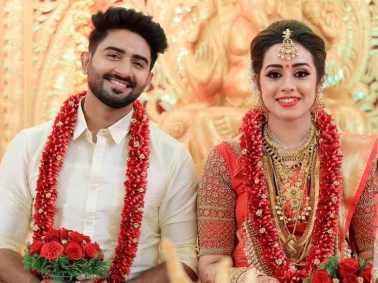 Kannana Kanne serial fame Rahul Ravi gets married to Lakshmi S. Nair - photos storm social media!
