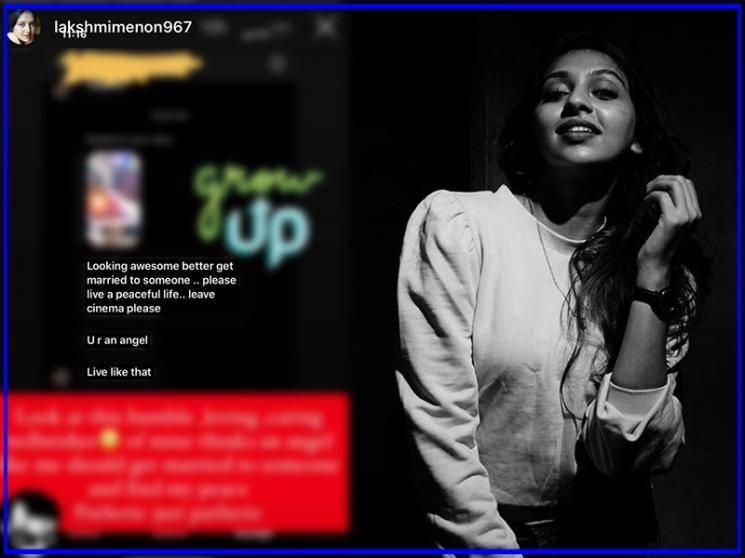 Lakshmi Menon's strong response for being told to get married - statement goes viral!