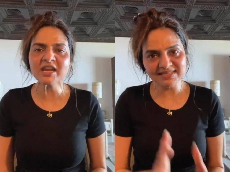 Actress Madhoo's angry video on Hathras Rape Incident - calls for a change in law!