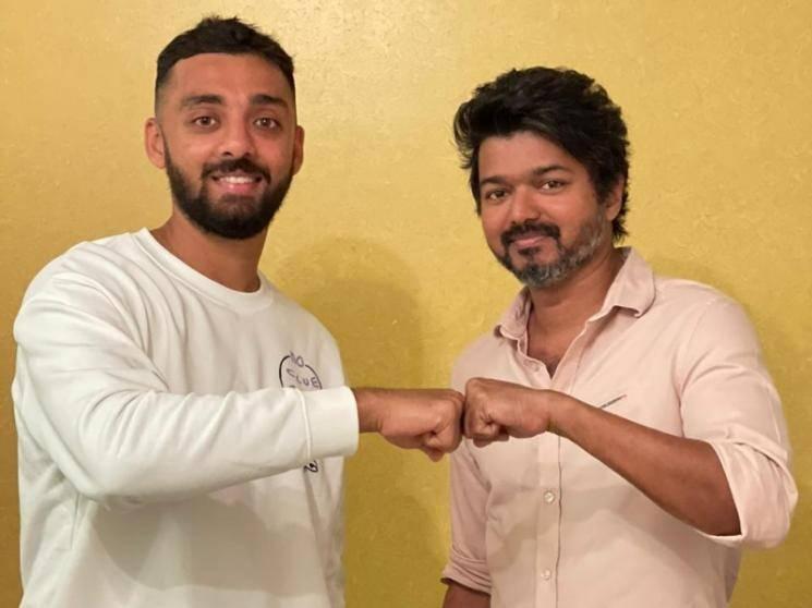 KKR cricketer Varun Chakravarthy's fanboy moment with Thalapathy Vijay | Master