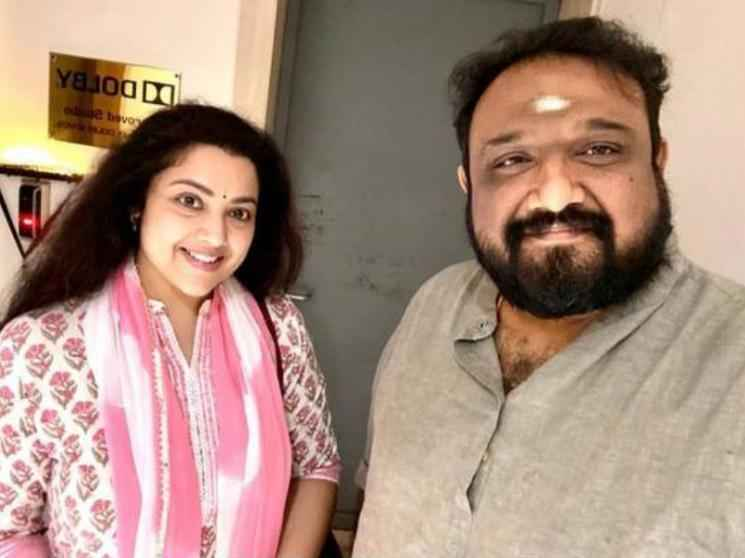 Meena starts dubbing for her portions in Rajinikanth's Annaatthe - Picture goes viral!