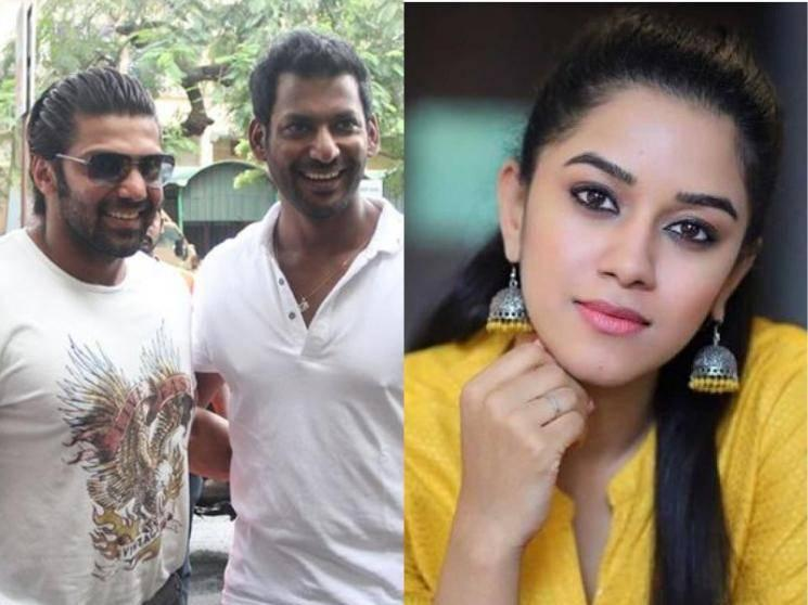 OFFICIAL: Super Deluxe fame Mirnalini Ravi joins the sets of Vishal-Arya multi-starrer