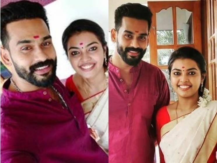 Malayalam actress Mridula Vijay gets engaged to actor Yuva Krishna - pics storm social media!