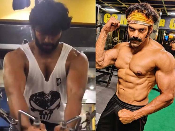 Arya shares Kalaiyarasan's new training video for Pa. Ranjith's boxing film!