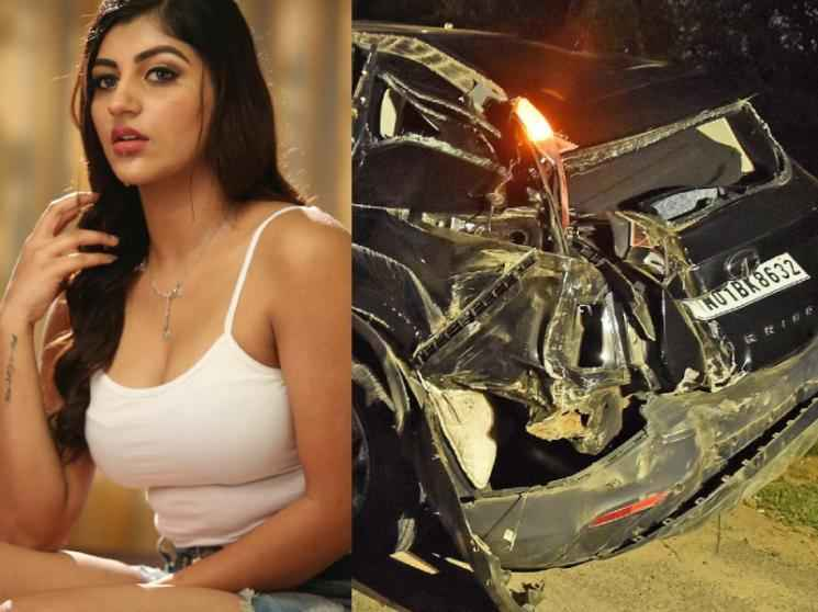 SHOCKING: Yashika Aannand suffers major injuries after a tragic car accident - details here!