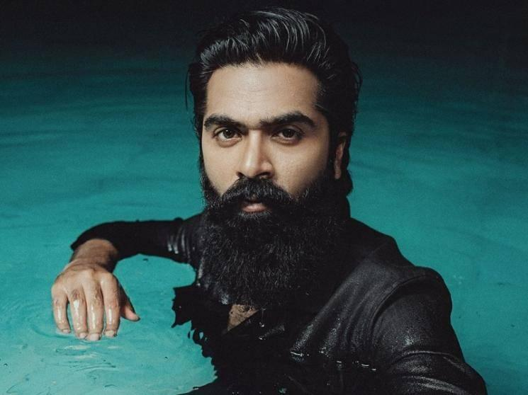 Simbu in trending mode - swimming pool photoshoot pics go viral!