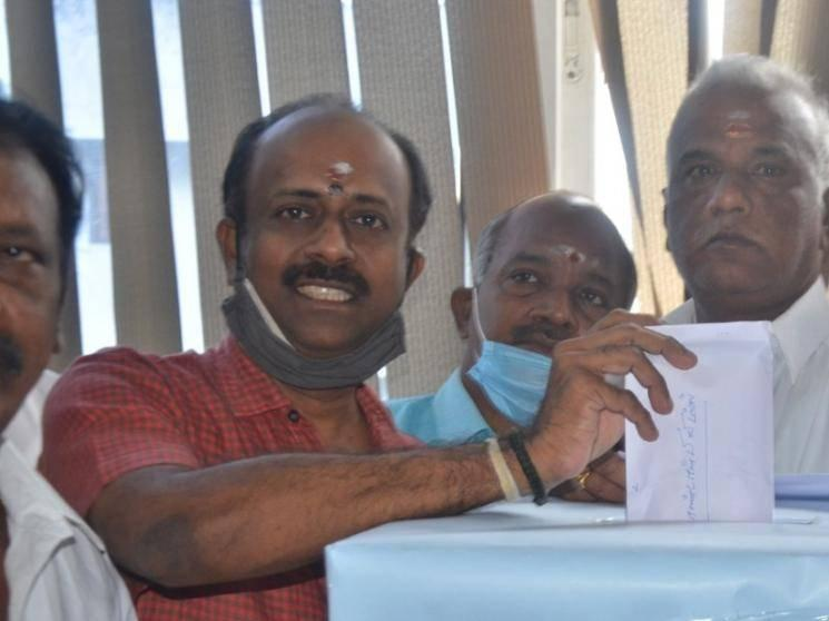 Tamil Film Producers Council election results announced - Mersal producer Murali Ramasamy wins