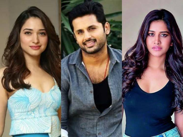 OFFICIAL: Tamannaah and Nabha Natesh join Nithiin's Andhadhun Telugu remake