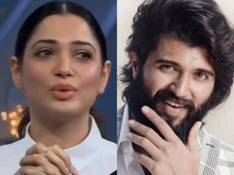 VIDEO: Tamannaah reveals she is ready to kiss Vijay Deverakonda on-screen | Sam Jam