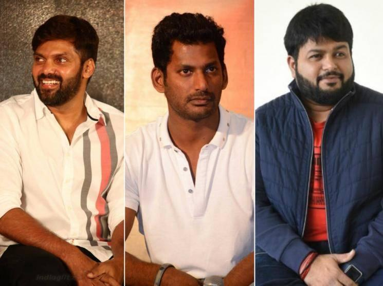 OFFICIAL: Vishal-Arya's multi-starrer action film gets music composer S. Thaman