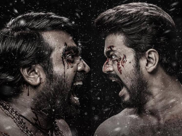 Thalapathy Vijay's Master new official fan art poster | Gopi Prasannaa | Vijay Sethupathi