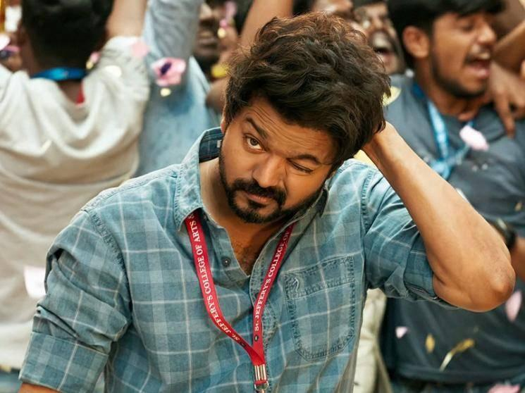 Thalapathy Vijay's Master album's new huge milestone after Mersal and Bigil