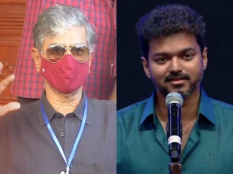 S.A.Chandrasekhar responds to Thalapathy Vijay's statement on his political party