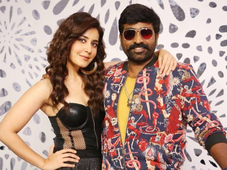 OFFICIAL: Raashi Khanna replaces Aditi Rao Hydari in Vijay Sethupathi's Tughlaq Durbar