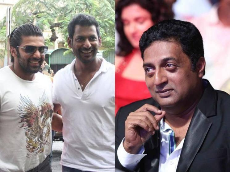 OFFICIAL: Prakash Raj comes on board Vishal-Arya's action thriller Enemy