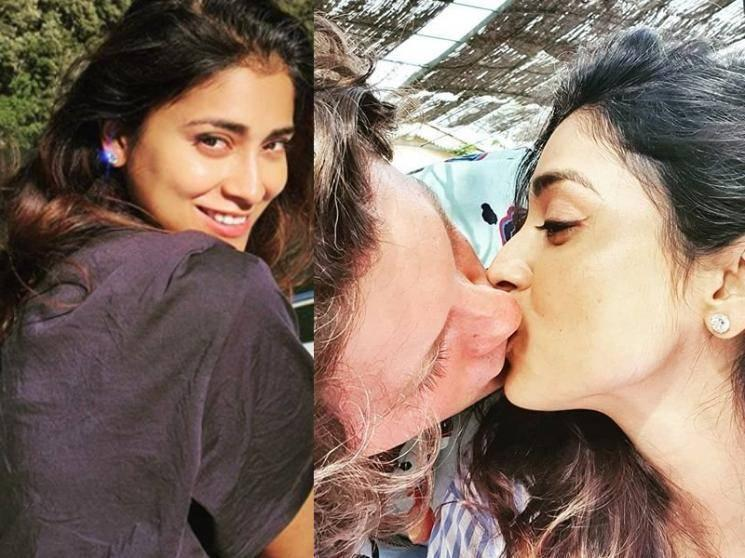 Shriya Saran's latest romantic picture goes viral among fans - check out!
