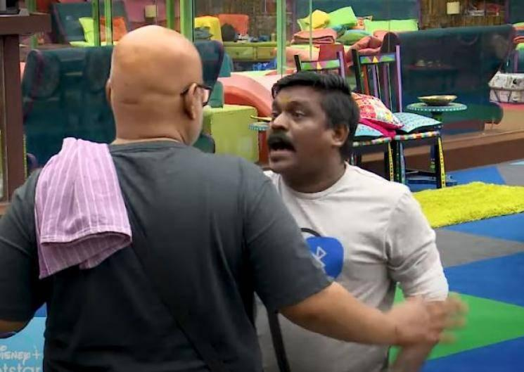 Fight erupts between Vel Murugan and Suresh Chakravarthy | Bigg Boss 4 | Day 9 - Promo 2