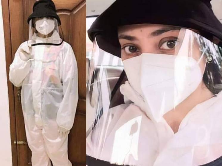 Meena's latest PPE Outfit Pictures go viral on social media - check out!