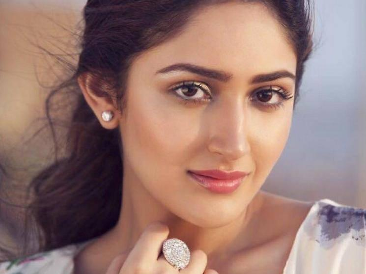 Sayyeshaa bags a new film - to play the heroine in this big star's next film!