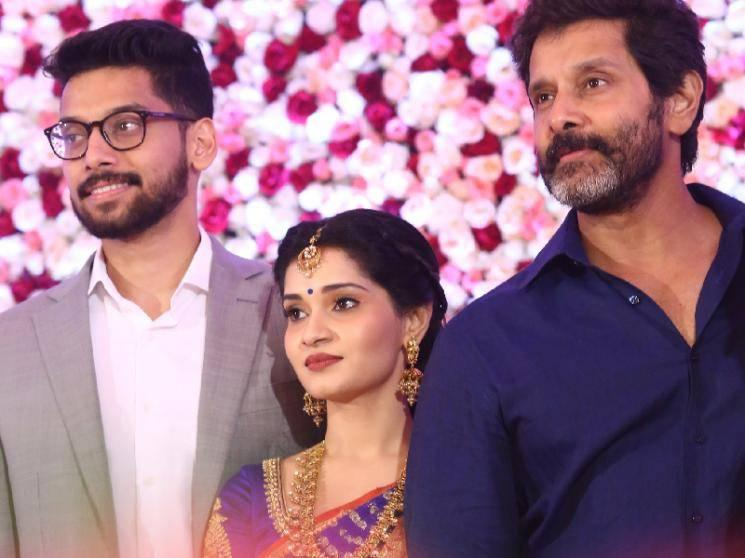 Chiyaan Vikram becomes a granddad! Good news at Vikram's household!