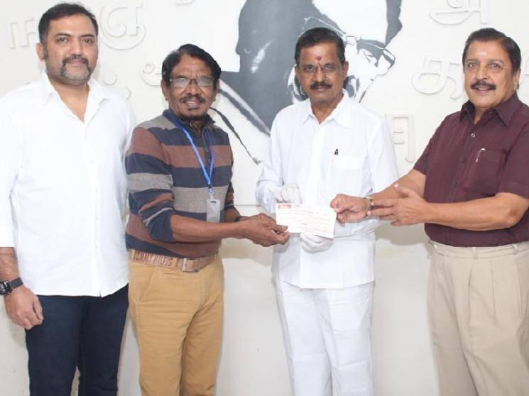 Suriya fulfills his promise - makes generous donation towards Tamil film industry!