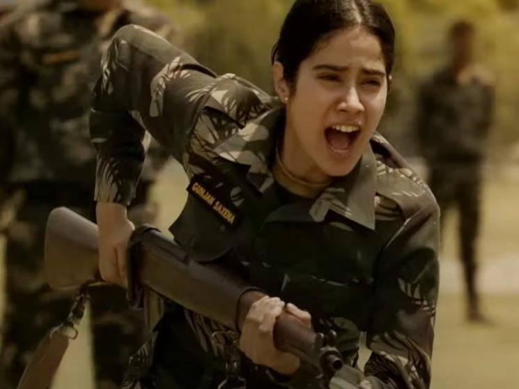 Janhvi Kapoor's Gunjan Saxena Official Trailer | a Netflix Original film