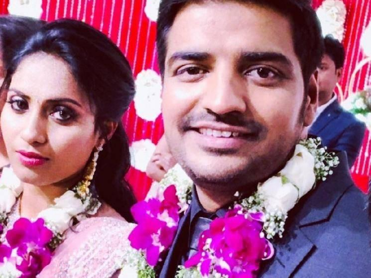 Good News: Sathish and his wife blessed with a baby girl!