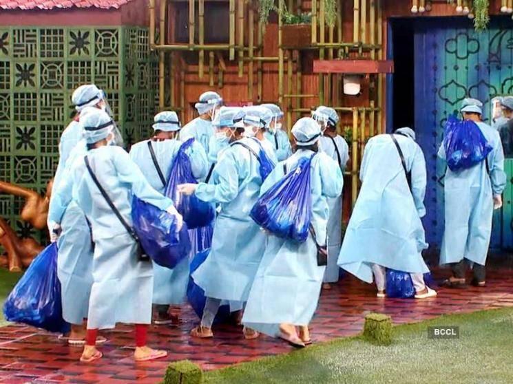 Contestants evacuated from Bigg Boss Tamil 4 house due to cyclone Nivar - Viral pic!