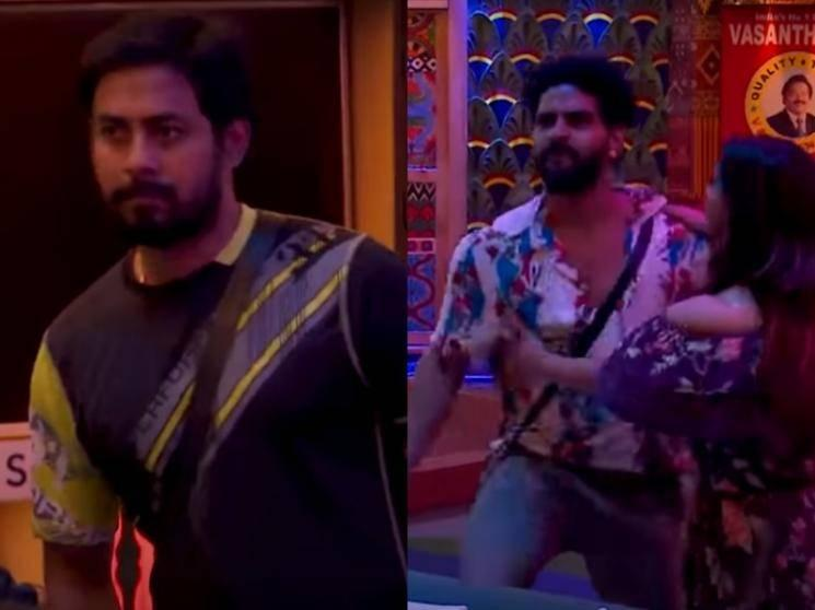 Fight turns nasty between Balaji and Aari | Tensions in Bigg Boss house | New promo