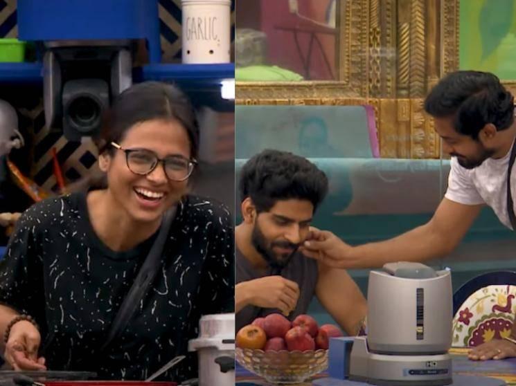Ramya makes of fun of Aari and Balaji with Bigg Boss' help | New Promo