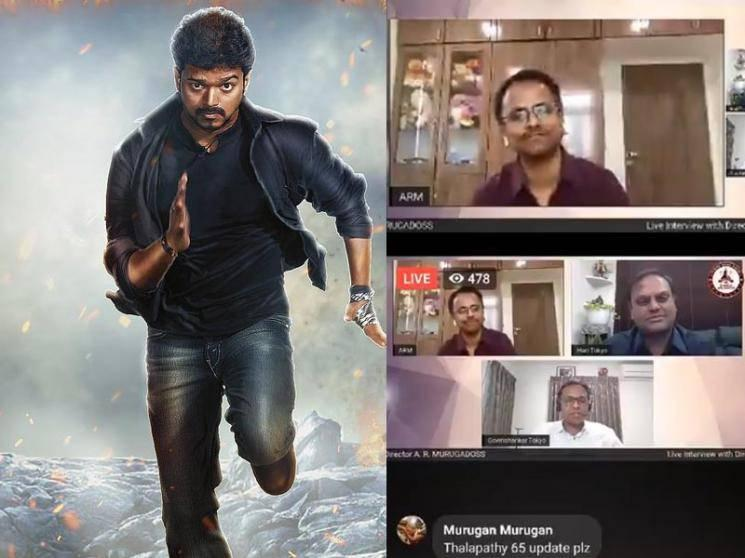 Just IN: AR Murugadoss' official statement on Thalapathy 65 announcement