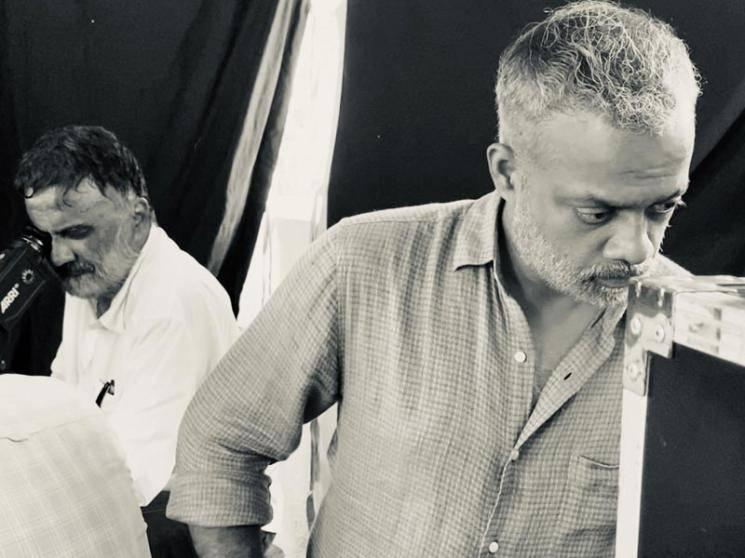 Good news: Gautham Menon starts shooting for his ambitious project