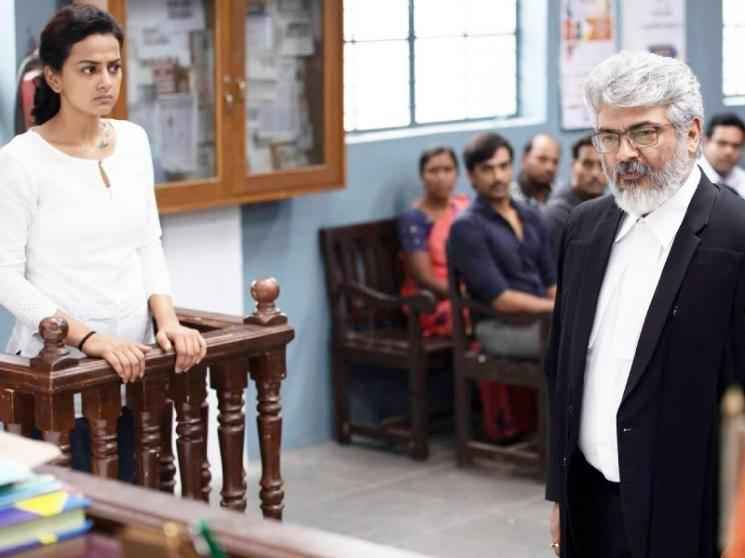 Shraddha Srinath gets emotional about Nerkonda Paarvai - all praise for Ajith!