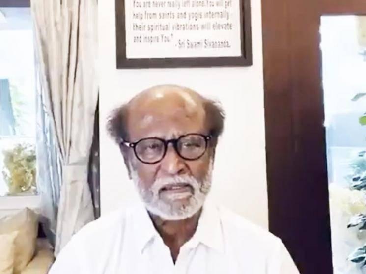 Superstar Rajinikanth opens up about SP Balasubrahmanyam's medical health