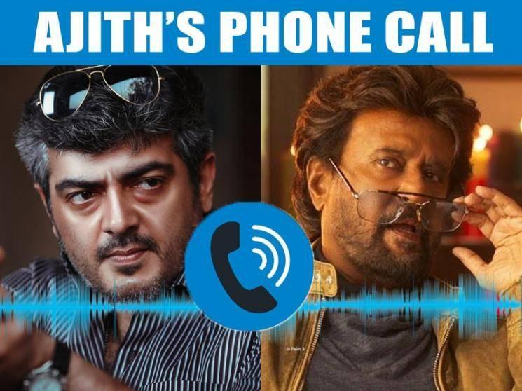 Galatta Breaking: Did Ajith really talk to Rajinikanth on phone? Official confirmation